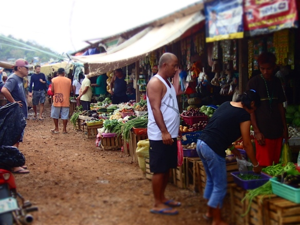 The market place, vegetables :)