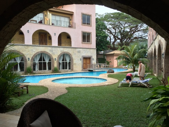 Corto Hotel and their nice pool!