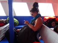 On the ferry from Coron to el Nido