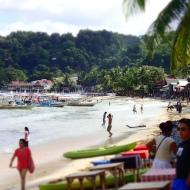 The beach by el Nido town