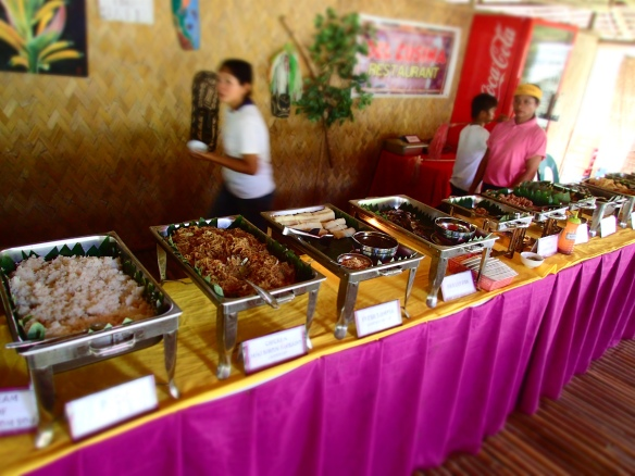 The lunch buffet :)