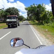 Nice roads on our way to carmen!
