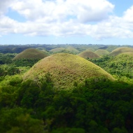 The Chocolate hills in Carmen!