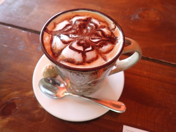 Even the coffee was great and beautiful at the buzz café!