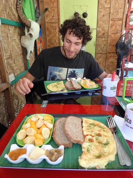 Niiiiice breakfast!!!