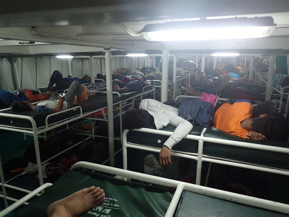 In the sleeping ferry to Cagayan d oro!